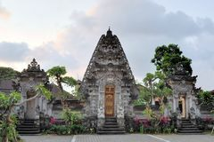 Hindu temple at Ubud, Bali, Indonesia Stock Images