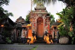 Hindu temple, Ubud, Bali Royalty Free Stock Photos