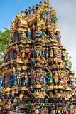 Hindu Temple, Yangoon, Myanmar. royalty free stock images