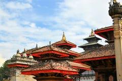 Hindu Temples of Durbar Square, Kathmandu, Nepal Royalty Free Stock Image