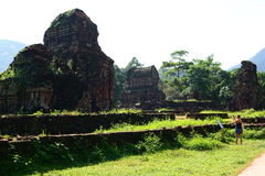Hindu temples. My Son. Quảng Nam Province. Vietnam Royalty Free Stock Photos