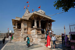 Hindu 8th-century temple Kalika Mata Royalty Free Stock Photography