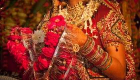 Hindu wedding ritual in india Royalty Free Stock Photo