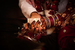 Hindu wedding ritual in india Royalty Free Stock Image
