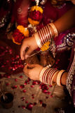 Hindu wedding ritual in india Royalty Free Stock Photography