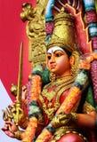hinduisk amman gudinna Arkivbild