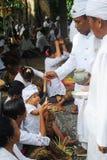 hinduisk ceremoni Arkivbilder