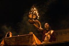 Hinduisk ceremoni Arkivfoton
