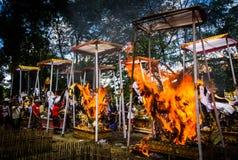 hinduisk ceremoni Royaltyfria Bilder