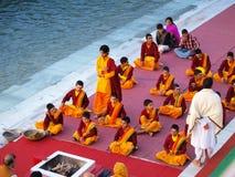 hinduisk ceremoni Fotografering för Bildbyråer