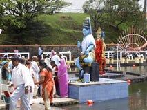 Hinduisk festival Maha Shivaratri Arkivfoto