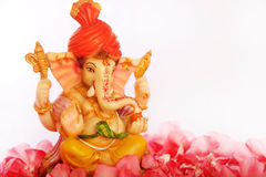 hinduisk ganeshagud Arkivfoto
