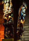 hinduisk gudgudinna Arkivfoton
