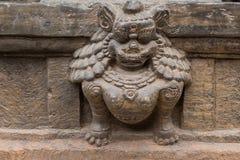 Hinduisk gudinnastaty Arkivfoto