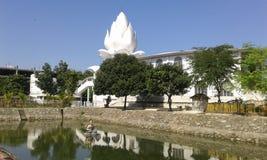 Hinduisk mandir Arkivfoton