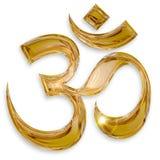 Hinduisk om-symbol Royaltyfria Foton