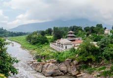 Hinduisk religiös tempel Royaltyfri Fotografi
