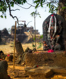 hinduisk relikskrin Arkivbilder