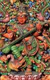 hinduisk saraswathi för gudinna Fotografering för Bildbyråer