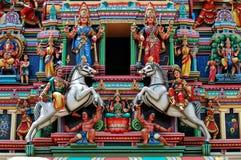 hinduisk scupture Arkivbild