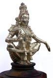 hinduisk staty för ayyappan gud Arkivbilder
