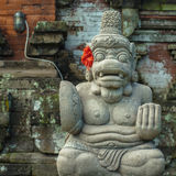 Hinduisk staty i Bali Royaltyfria Foton