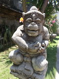 Hinduisk staty i Ubud Royaltyfri Bild