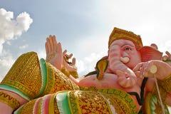 Hinduisk statyganesha för elefant Arkivfoton
