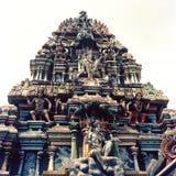 Hinduisk tempel Fotografering för Bildbyråer