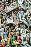Hinduisk tempel Arkivbilder