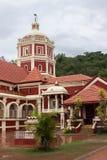 Hinduisk tempel, Goa, Indien Arkivfoto