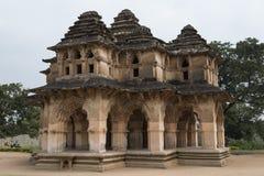 Hinduisk tempel, Hampi, Indien Royaltyfri Bild