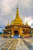 Hinduisk tempel i Bangladesh Arkivfoton