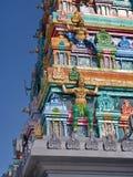 Hinduisk tempel i den Namchi staden, Sikkim stat i Indien, 15th April, Royaltyfria Foton