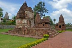 Hinduisk tempel på Amarkantak, Chhatisgarh Royaltyfri Bild