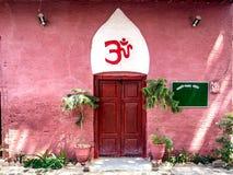 Hinduisk tempel Peshawar Pakistan Arkivfoton