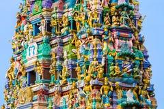Hinduisk tempel Sri Lanka Arkivfoton