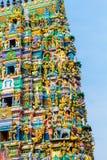 Hinduisk tempel Sri Lanka Arkivbild