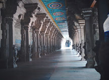 Hinduisk tempel Suchindram royaltyfri fotografi
