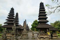 Hinduisk tempel Taman Ayun för Balinese i Mengwi Bali, Indonesien Arkivfoto