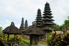 Hinduisk tempel Taman Ayun för Balinese i Mengwi Bali, Indonesien Arkivfoton