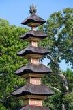Hinduisk tempel, Ubud, Bali, Indonesien Royaltyfri Fotografi