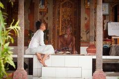 hinduiska beforbrahminceremonier Arkivfoto