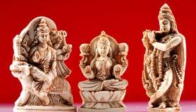hinduiska gudar Arkivfoto