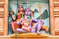 hinduiska gudar Fotografering för Bildbyråer