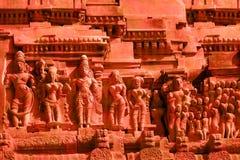 hinduiska gudar Arkivbild