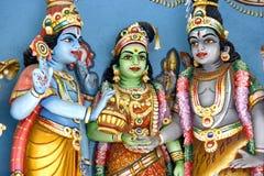 hinduiska gudar arkivbilder