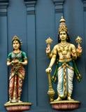 hinduiska gudar Royaltyfri Foto