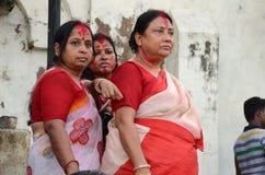 hinduiska kvinnor Arkivbilder