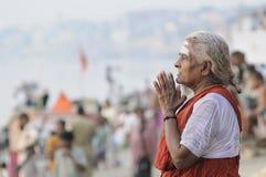 hinduiska religionritualer royaltyfria bilder